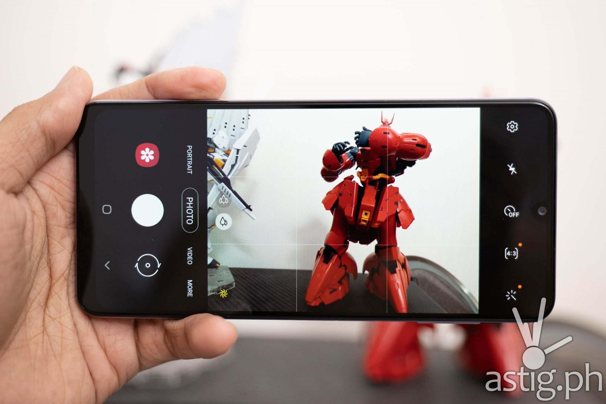 Camera software - Samsung Galaxy A22 (Philippines)
