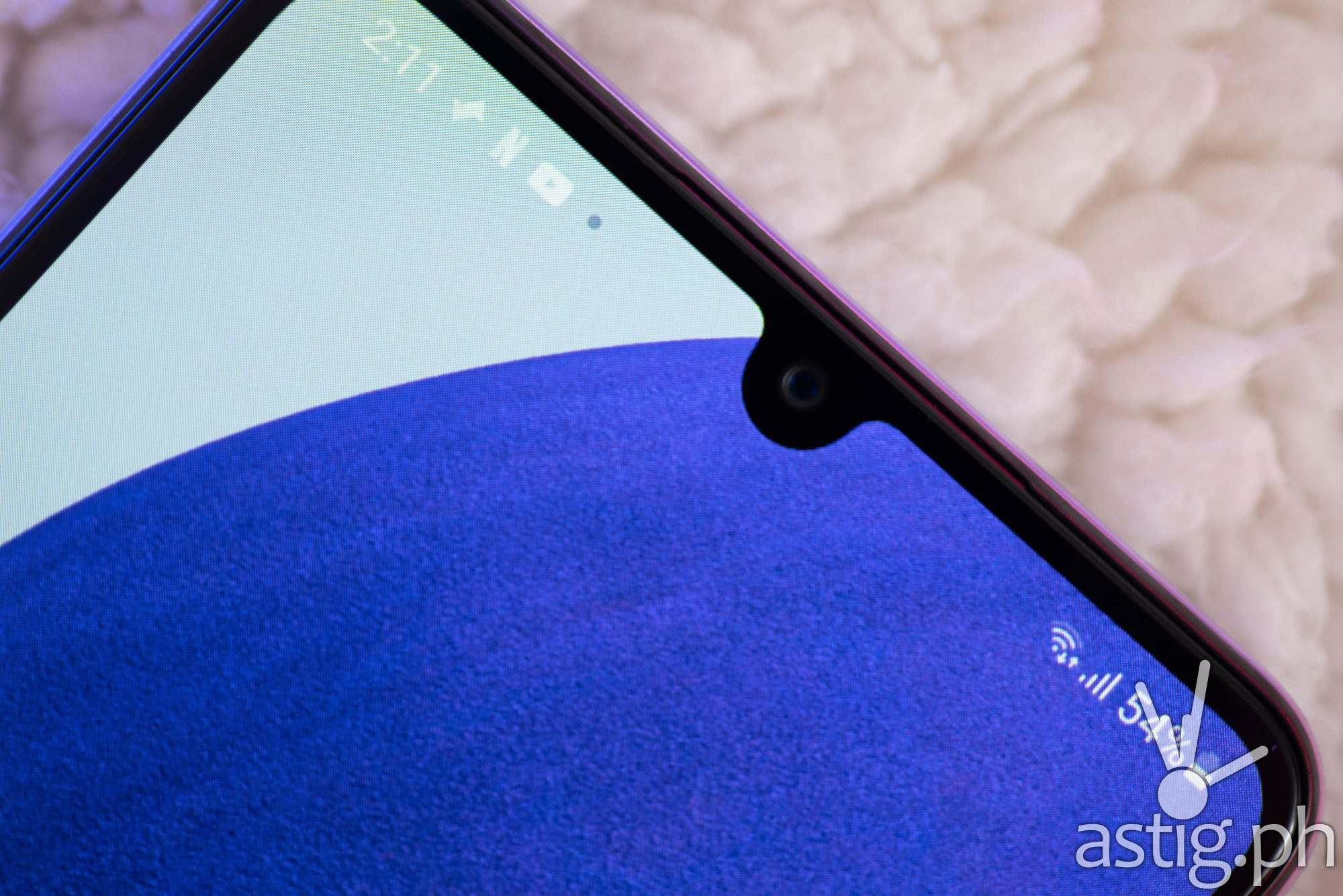 Infinity-V notch - Samsung Galaxy A22 (Philippines)