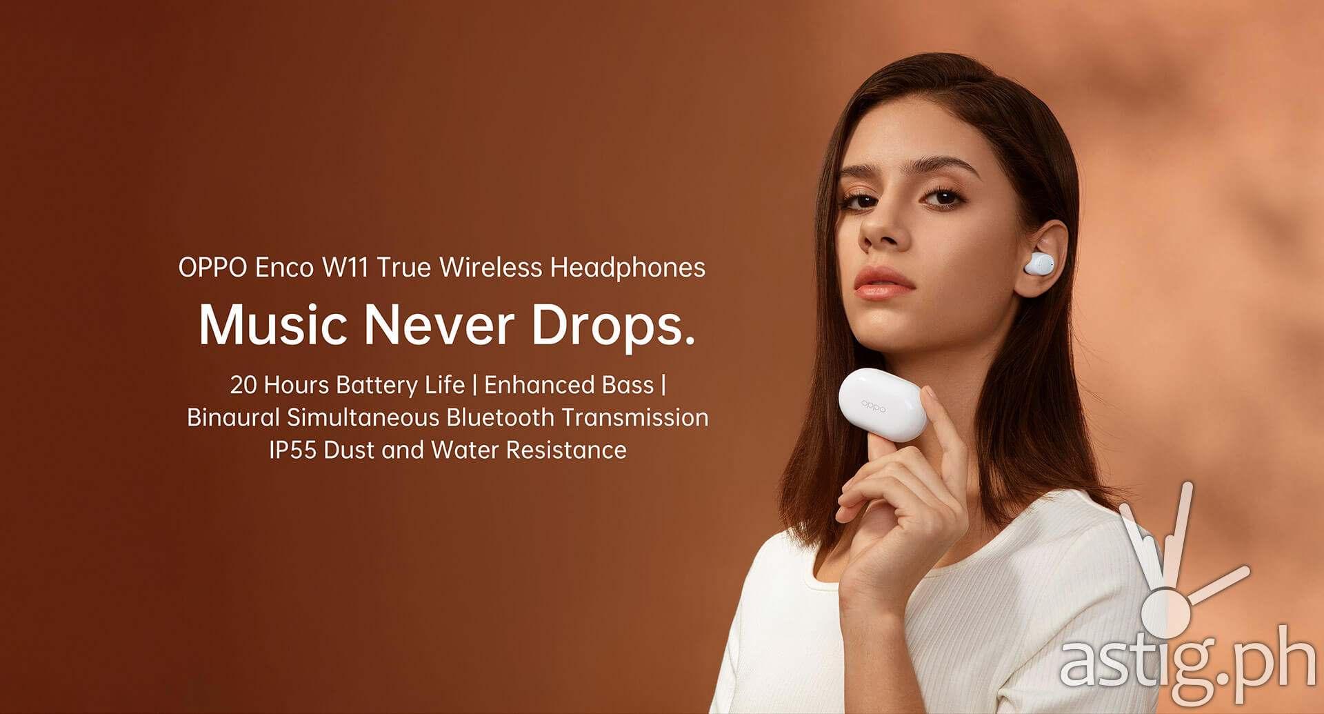 OPPO Enco W11 TWS earbuds Philippines
