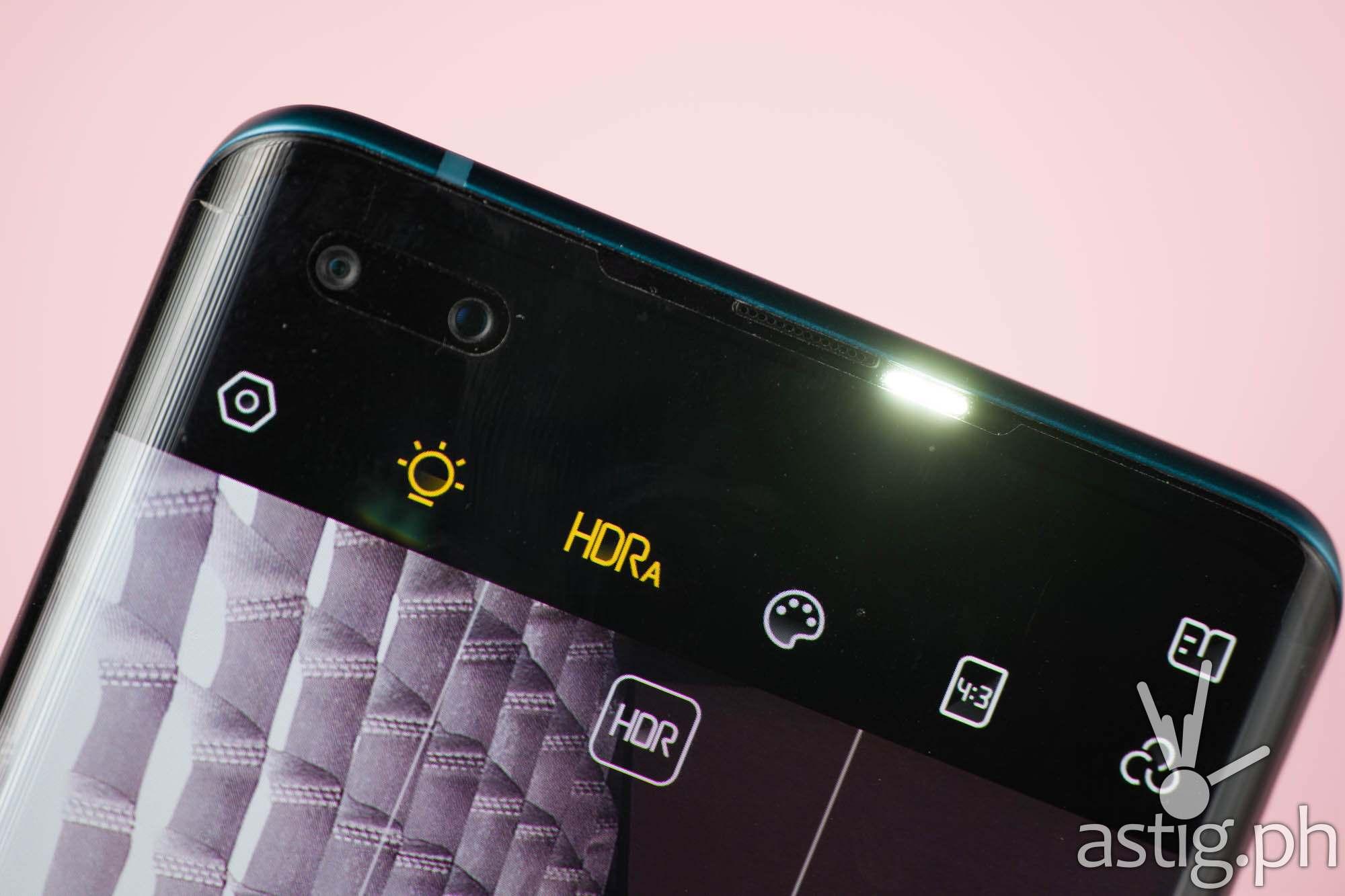 Selfie with dual LED flash - TECNO PHANTOM X (Philippines)