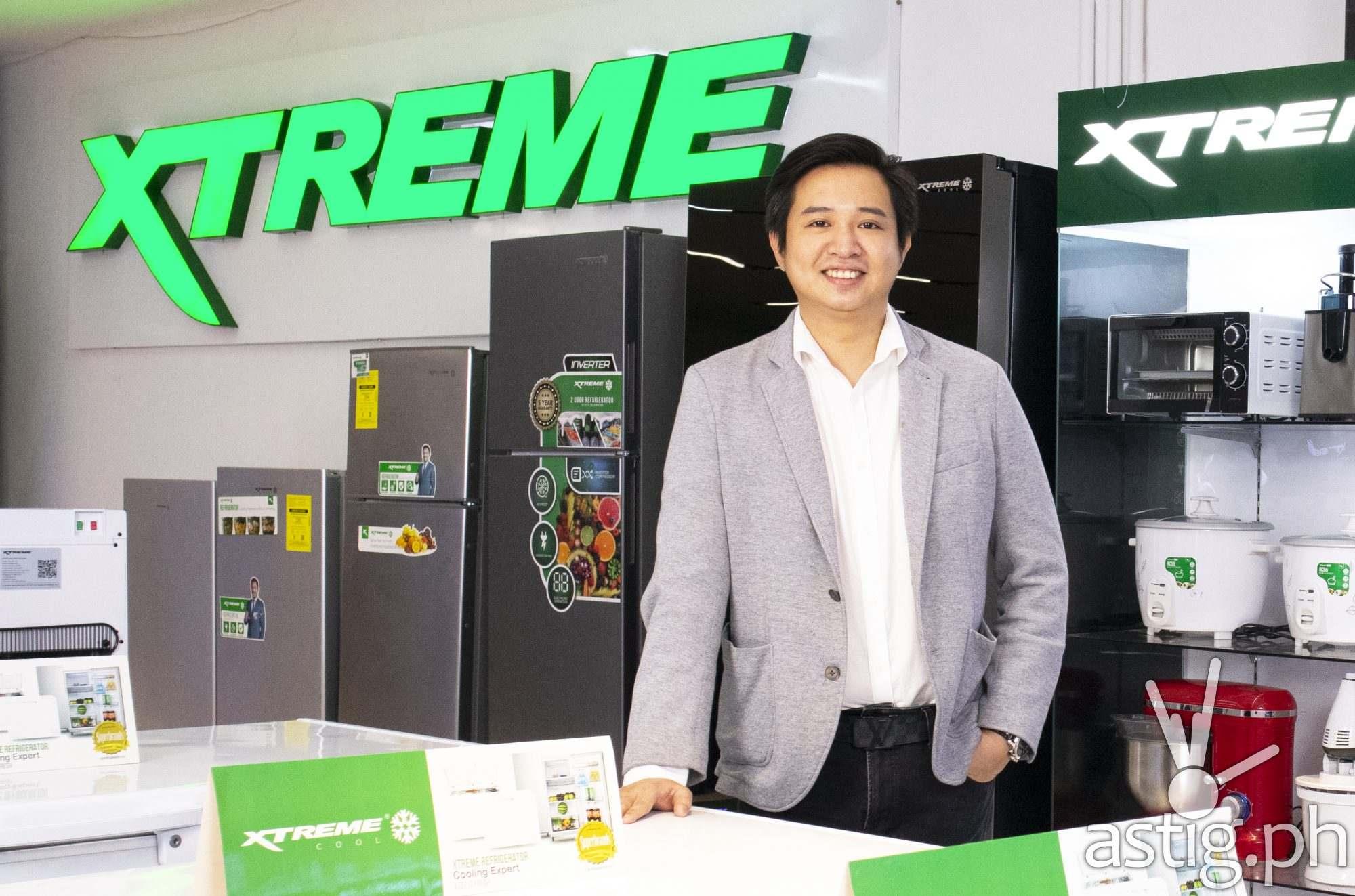 VP for Marketing Stephen Cheng