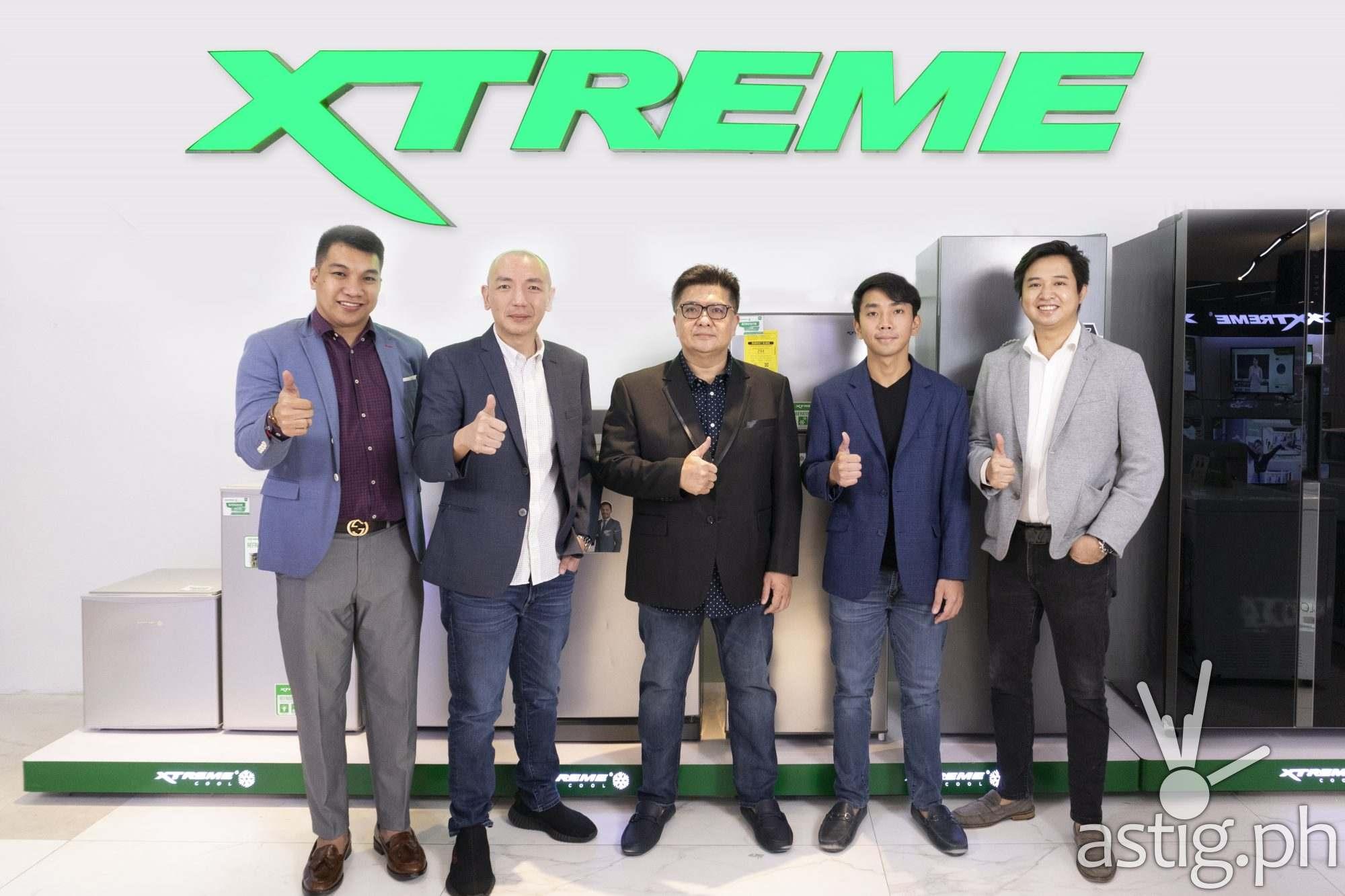 From left: XTREME Appliances VP – Business Development Mark del Mundo, XTREME Appliances — President Adrian Lim, SGC CEO Richard Lim, SGC Vice President Kevin Richard Lim, and XTREME Appliances VP – Marketing Stephen Cheng