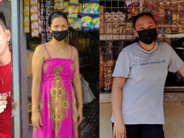 The Sari-sari store owners (L-R): Jerald Corpuz, Sherlyn Hernandez, Angel Ortiz)