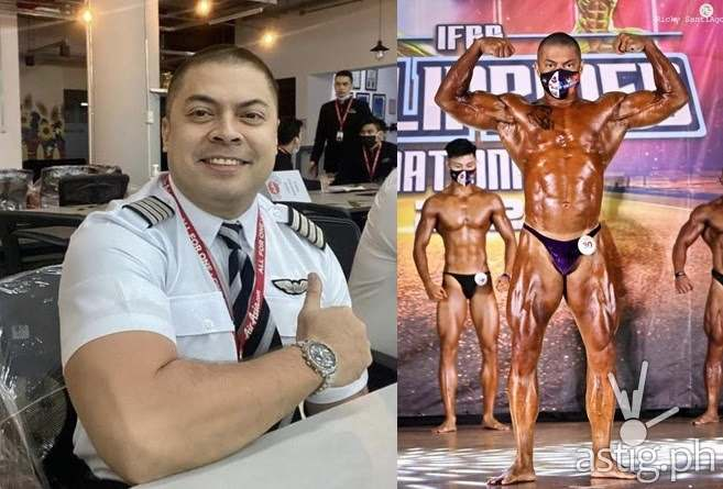 Capt Ledesma IFBB 2021 3rd place