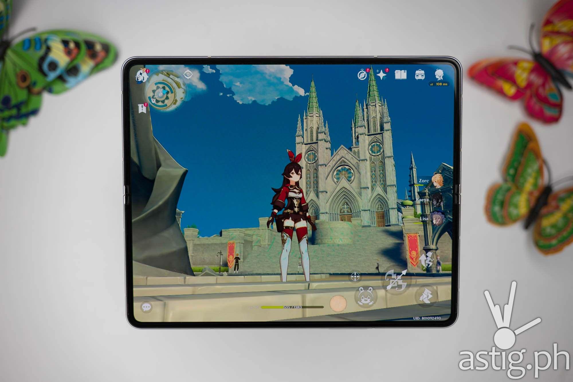 Genshin Impact - SAMSUNG Galaxy Z Fold3 5G (Philippines)