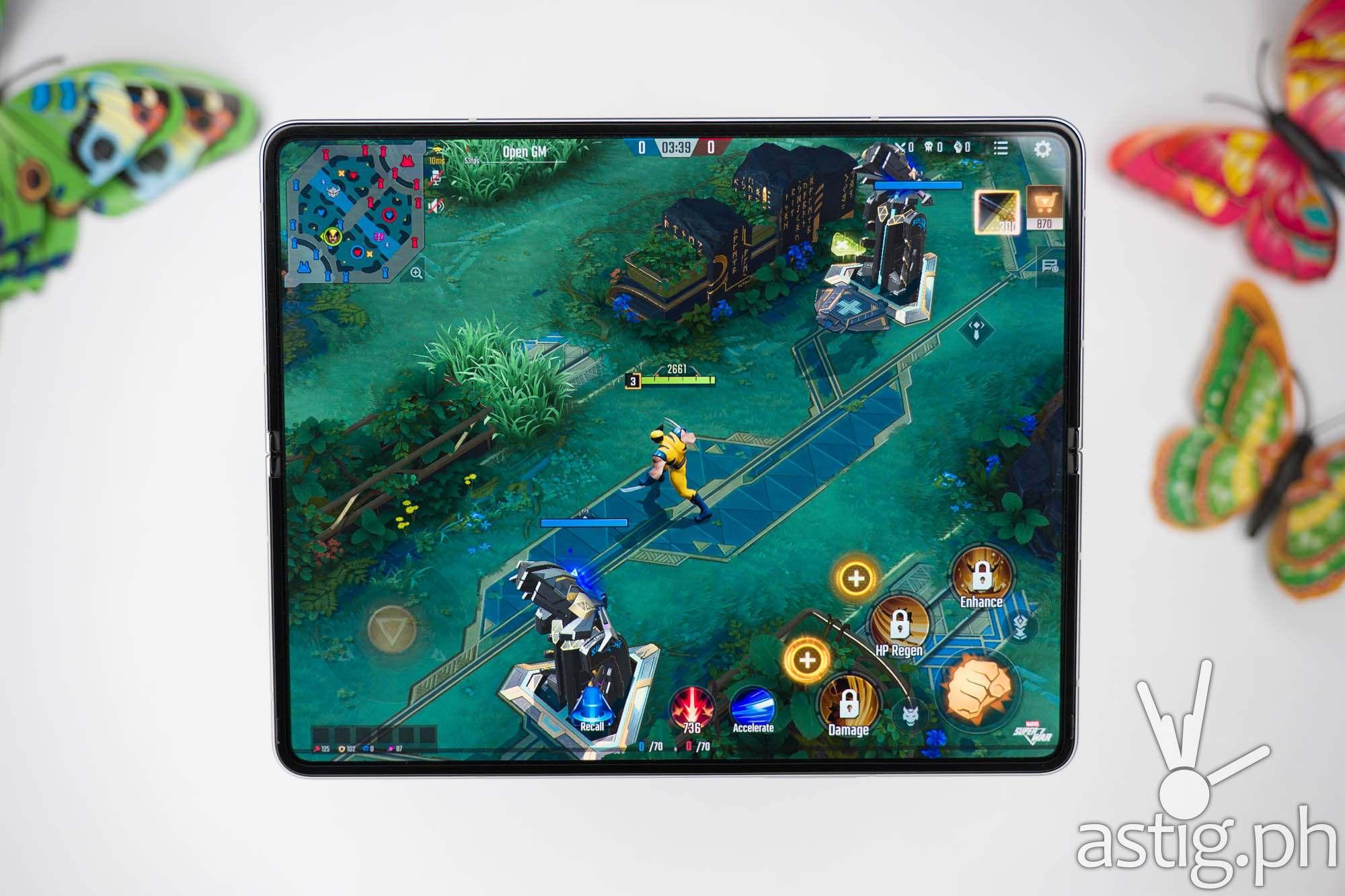Marvel Super War MOBA game - SAMSUNG Galaxy Z Fold3 5G (Philippines)