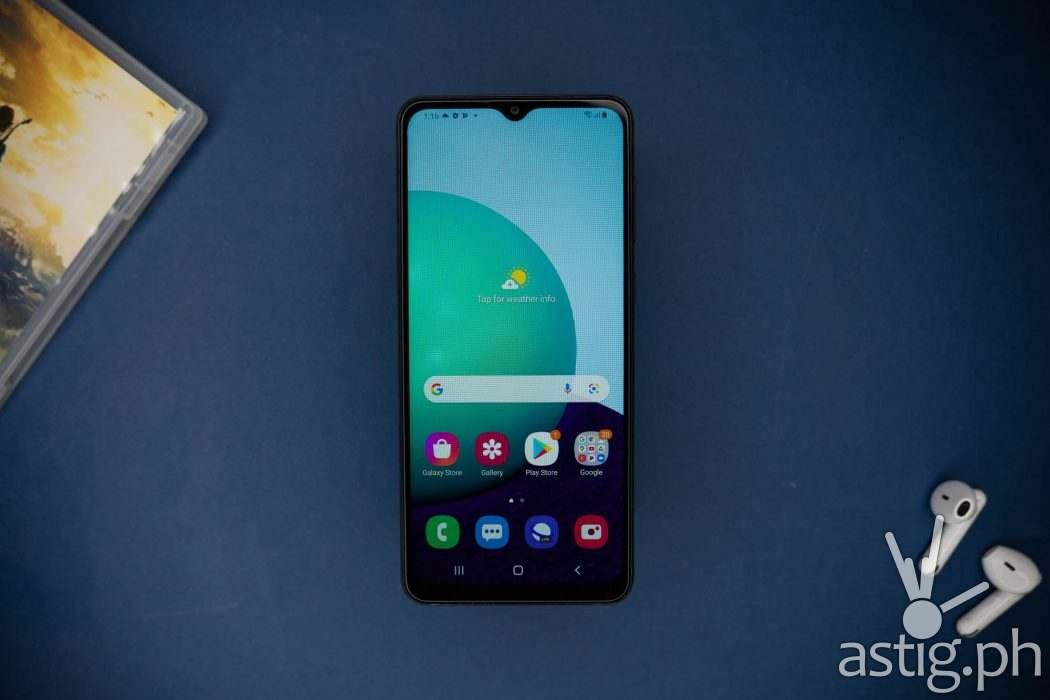 Front - SAMSUNG Galaxy A02 (Philippines)