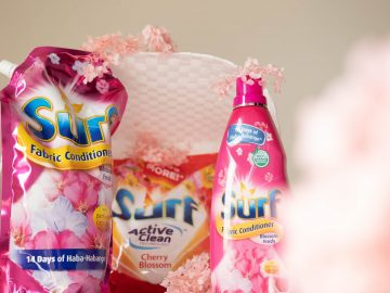 Surf fabric conditioner and laundry soap Cherry Blossom