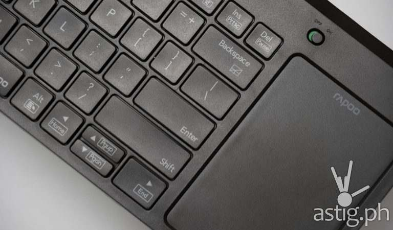 Rapoo K2800 wireless keyboard review: Control your PC and TV anywhere without a mouse