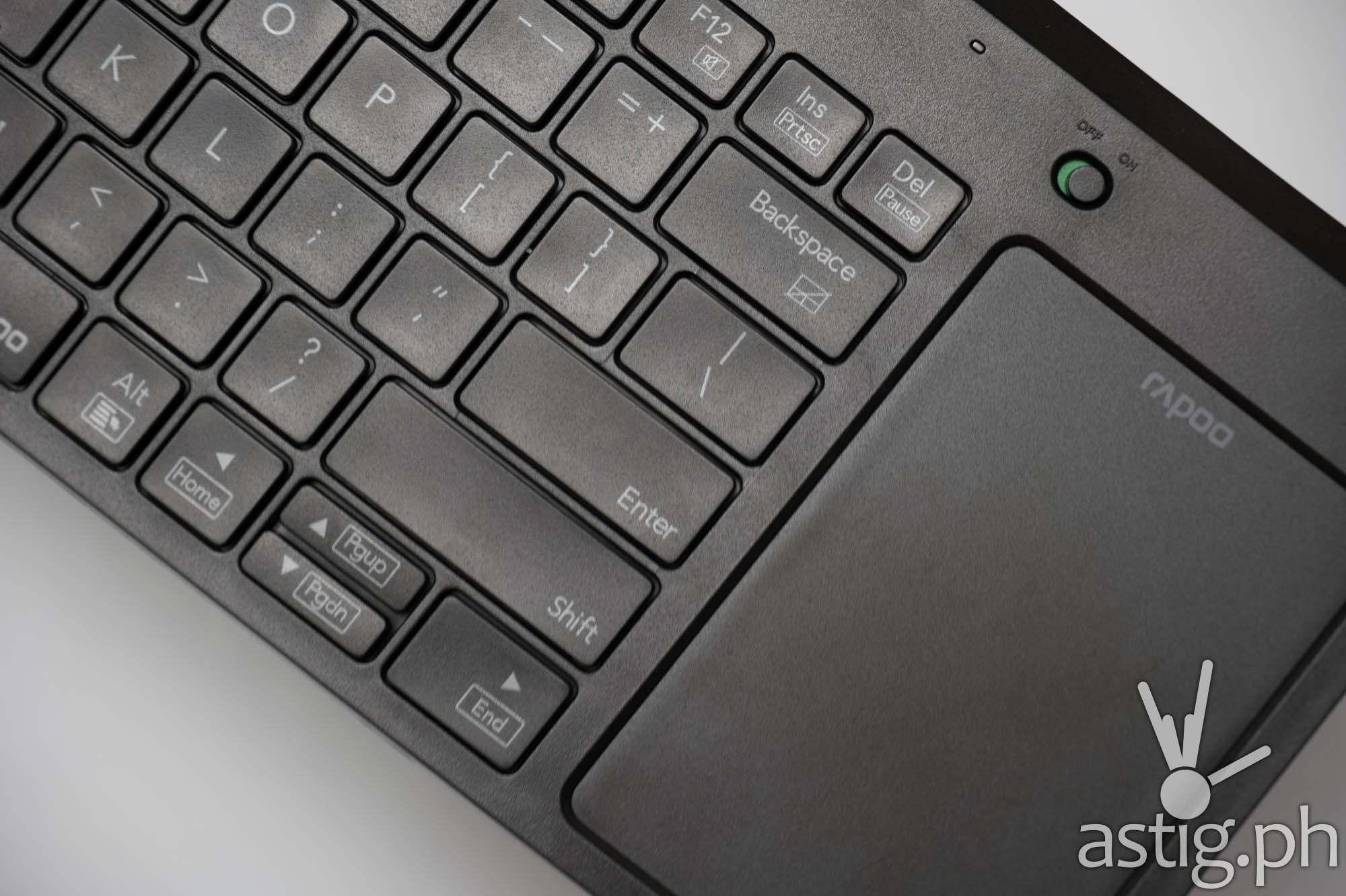 Rapoo K2800 wireless keyboard mouse