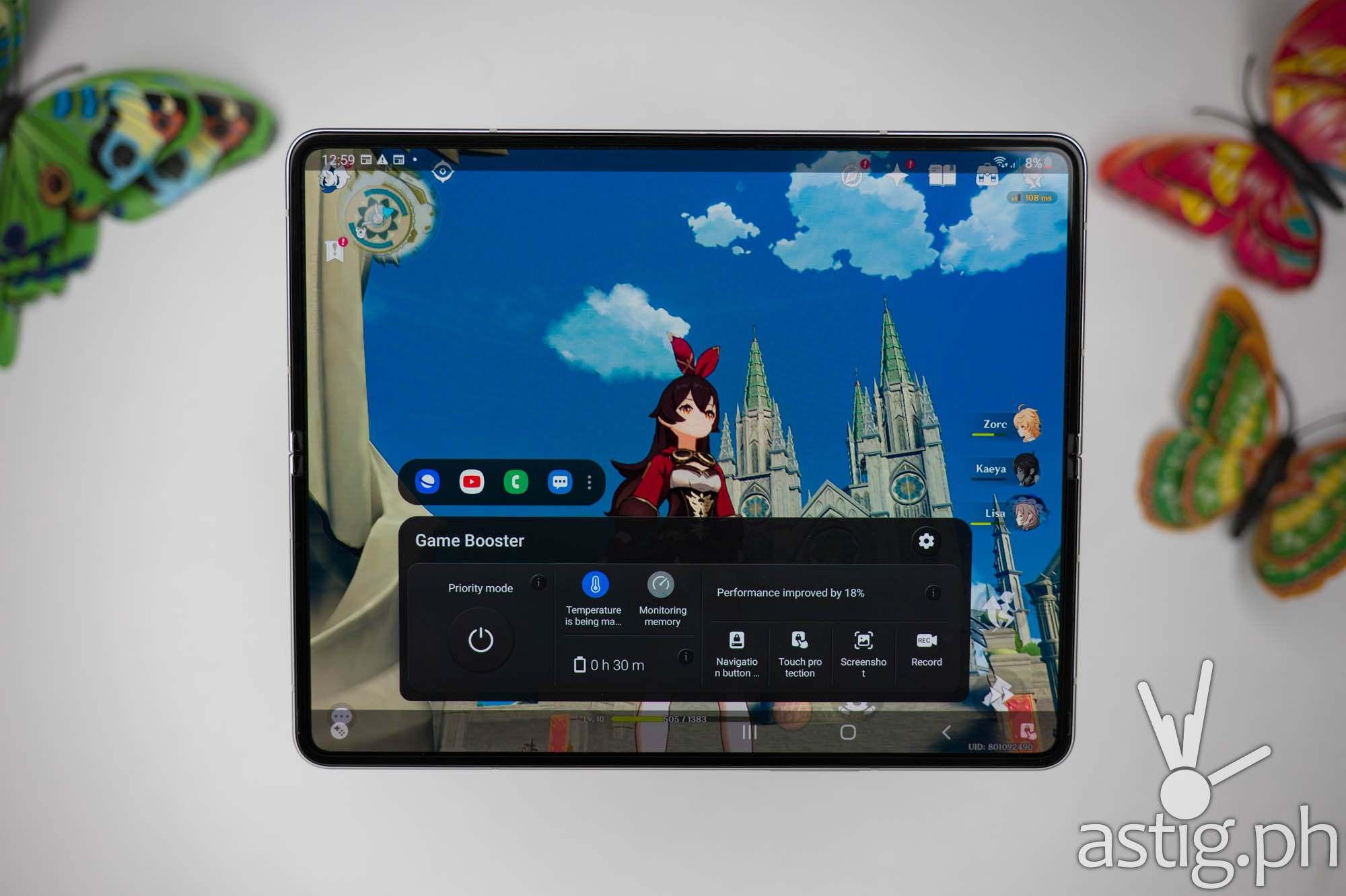 SAMSUNG Game Booster - SAMSUNG Galaxy Z Fold3 5G (Philippines)